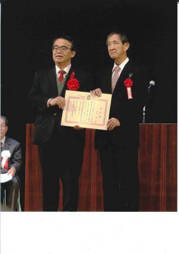 大村知事と記念撮影