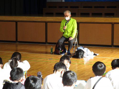 植田小学校福祉教室