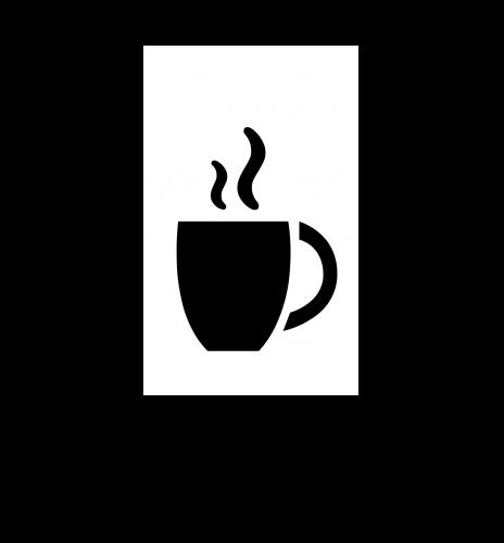 カフェのマーク